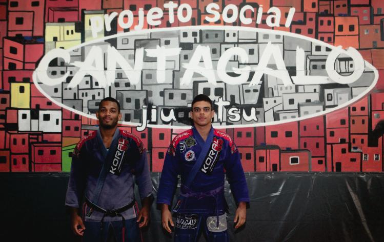 Cantagalo Jiu-Jitsu oferece aulas de luta gratuitas para crianças
