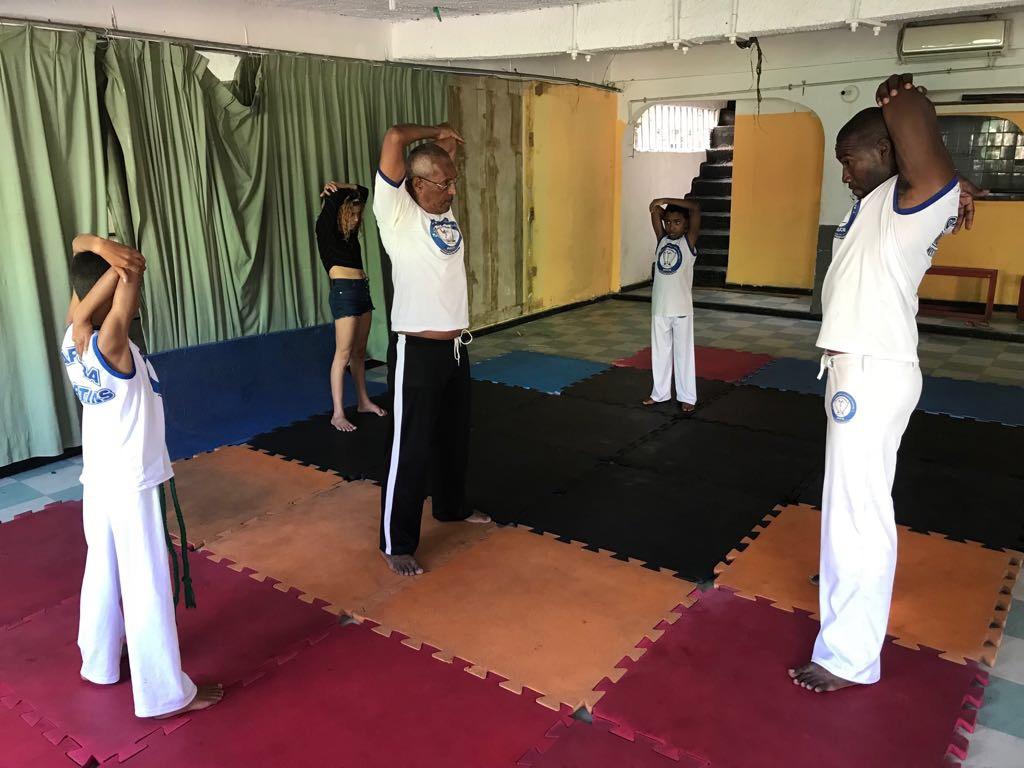 Capoeira e MMA de graça na Grota