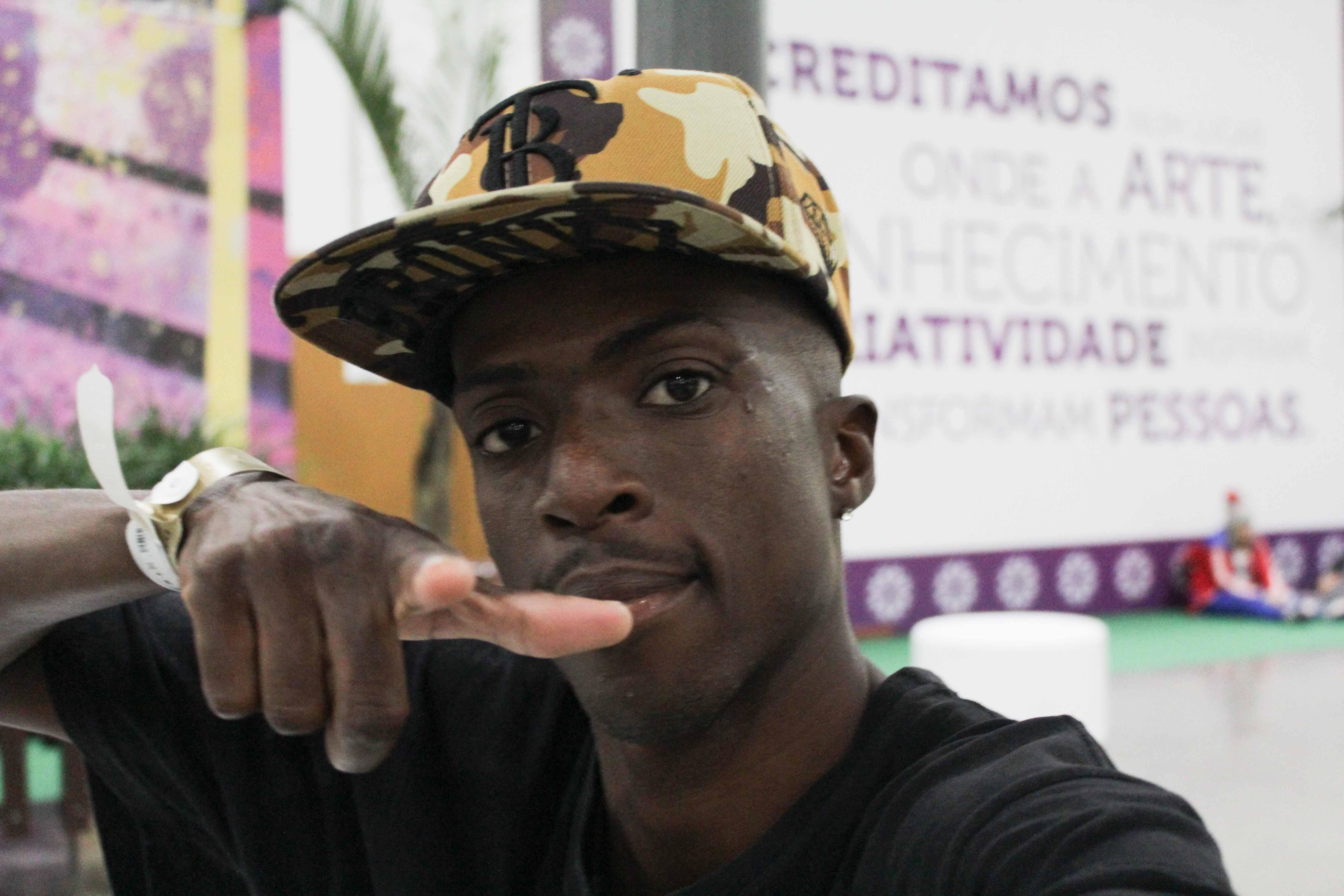 Anderson Kipula dos Descolados representa o Rio de Janeiro em Festival internacional de danças urbanas