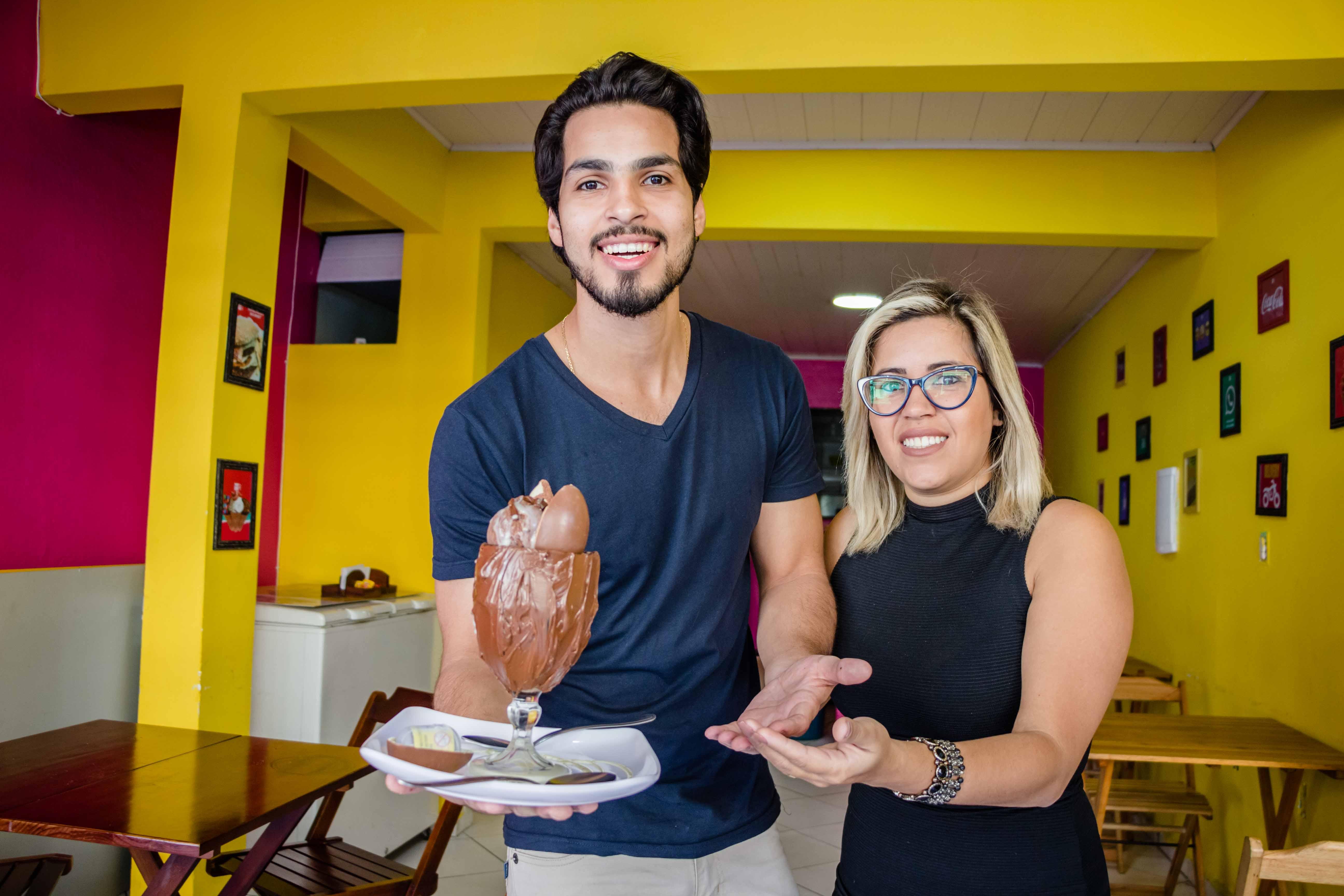 Taça de sorvete gourmet é sucesso no Complexo do Alemão