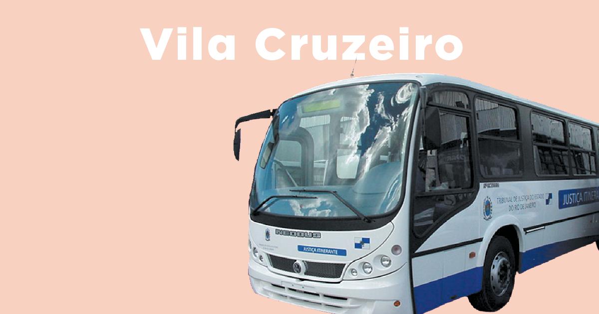 Veja o calendário do ônibus da Justiça na Vila Cruzeiro de 2017