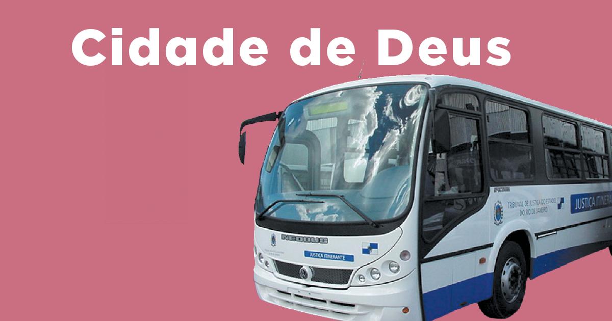 Veja o calendário do ônibus da Justiça na Cidade de Deus de 2017