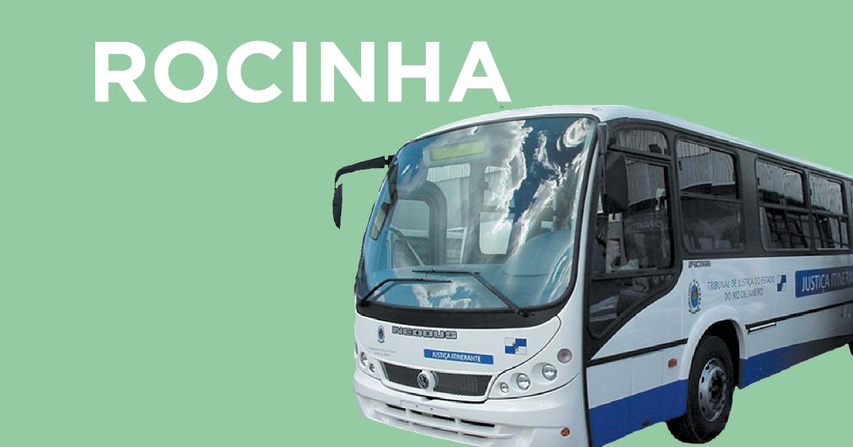 Veja o calendário do ônibus da Justiça na Rocinha de 2017
