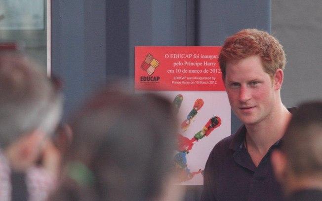 Projeto inaugurado por príncipe Harry sofre com falta de itens básicos