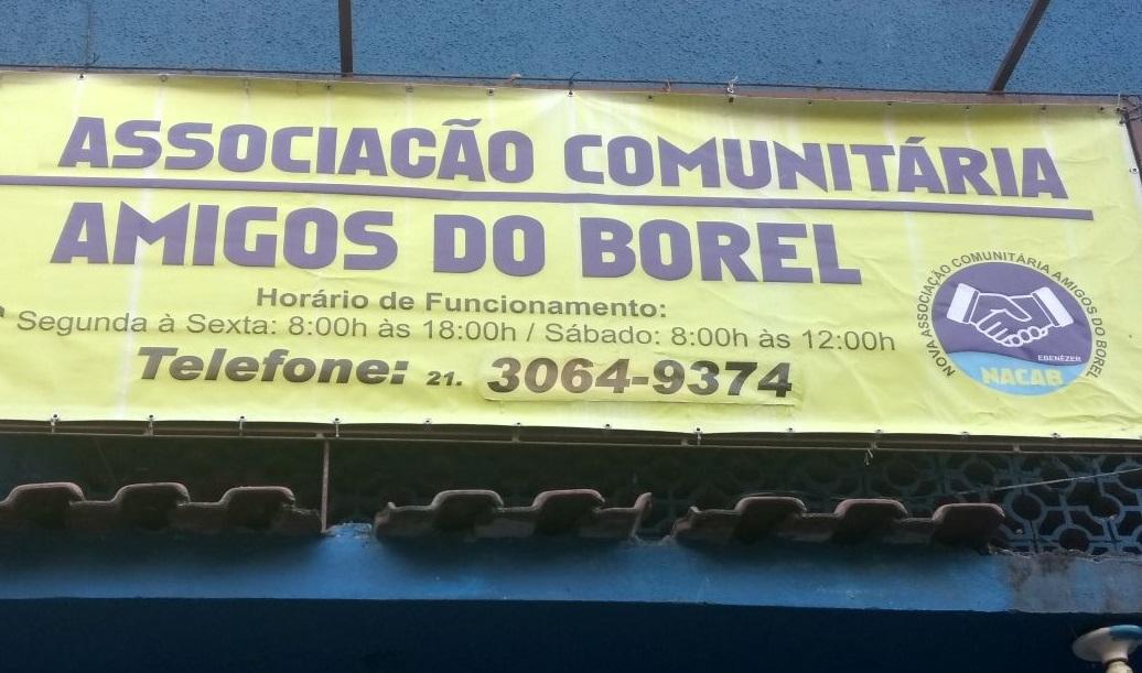 Morro do Borel ganha nova sede para associação dos moradores