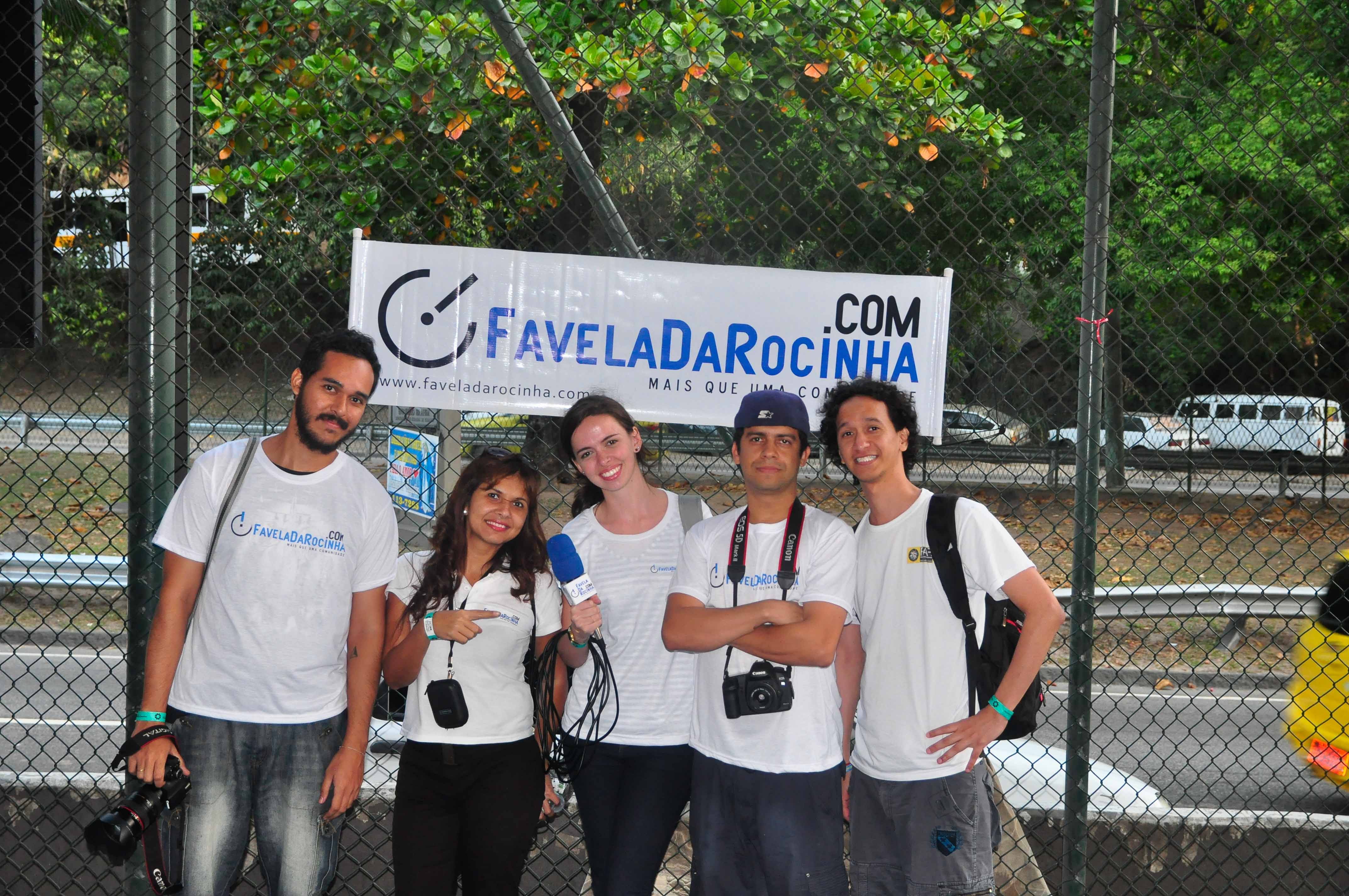 Equipe do FavelaDaRocinha.com - Foto: Divulgação