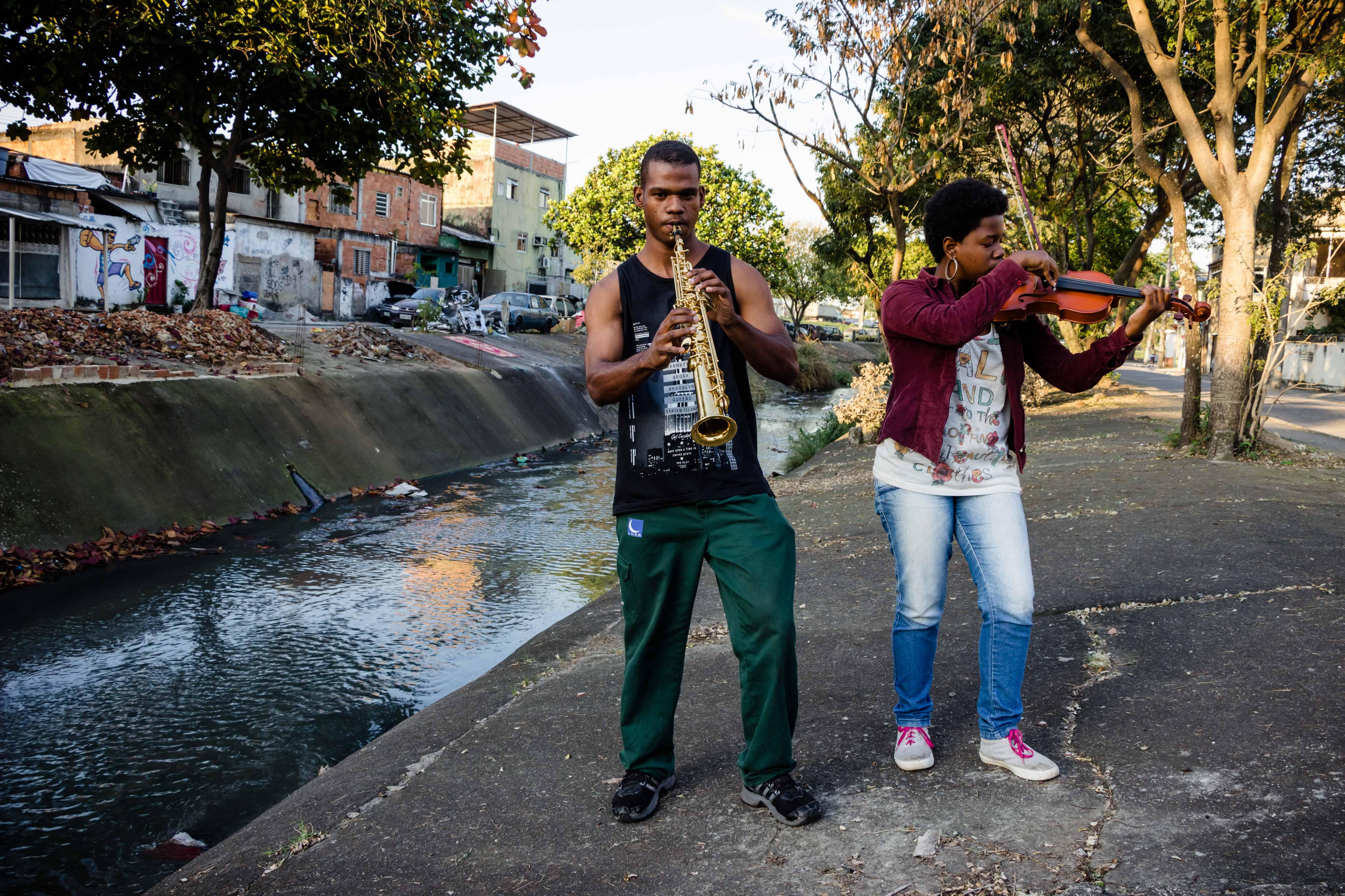 Dandara Caroline e Walker Pereira. Foto: Renato Moura/Voz Das Comunidades