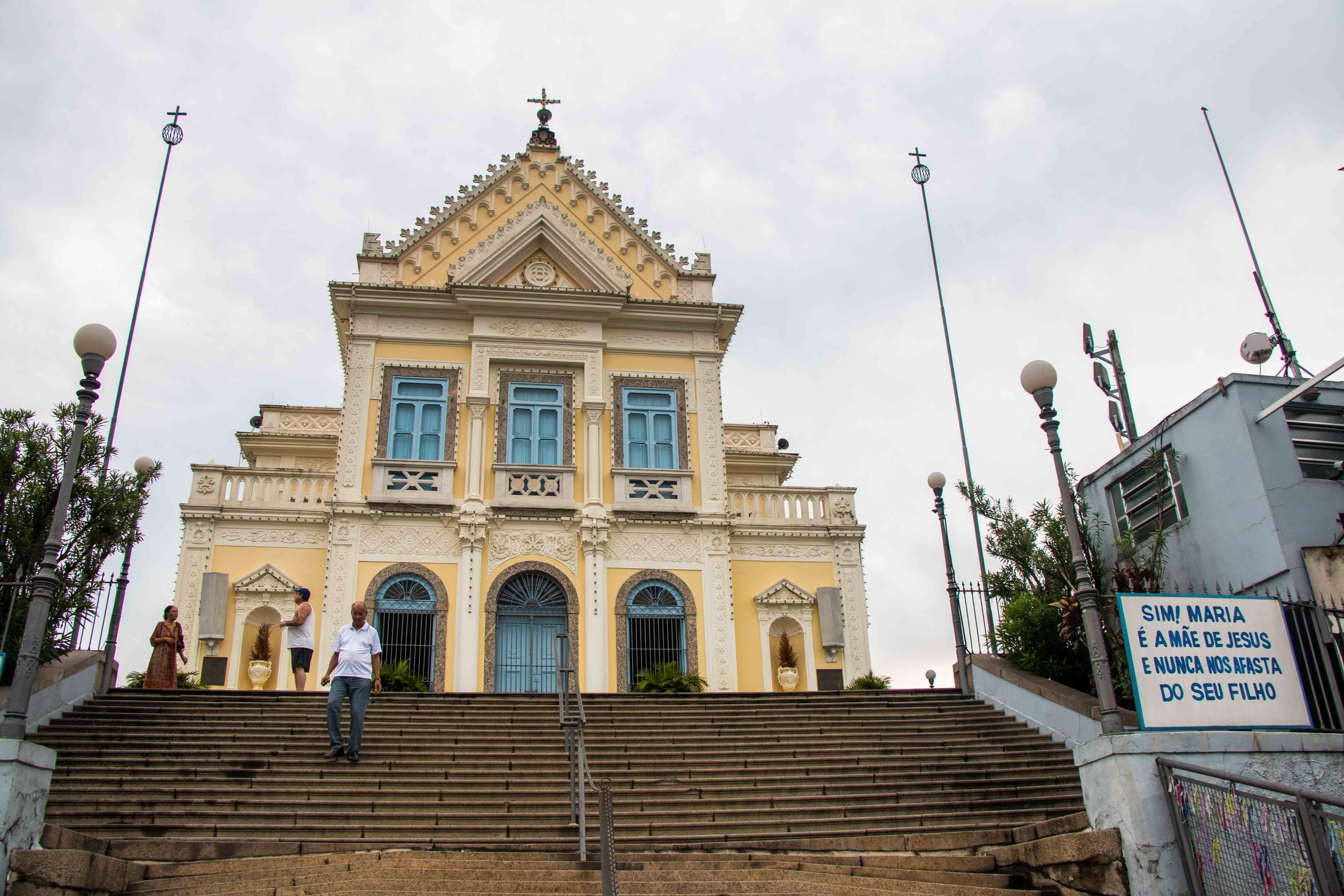 Igreja da Penha terá show de luzes nesta noite de Ano Novo