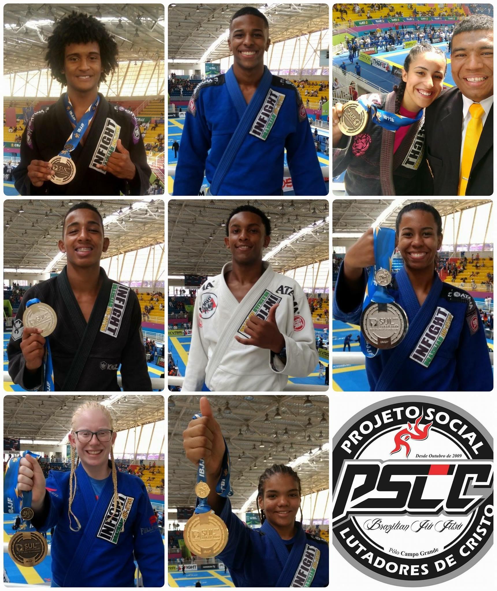 Lutadores da Cidade de Deus ganham medalhas no campeonato de Jiu-jítsu em São Paulo