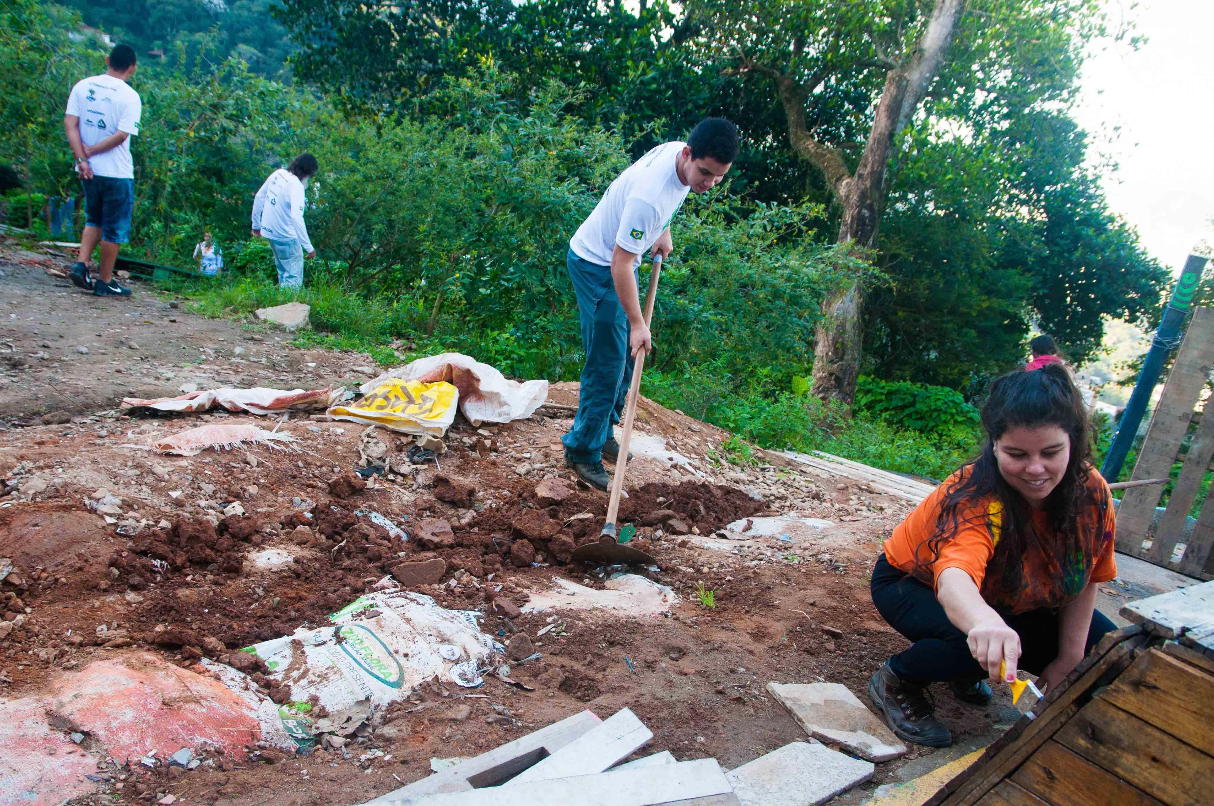 Favela Verde conscientiza Laboriaux sobre preservação ambiental na Rocinha