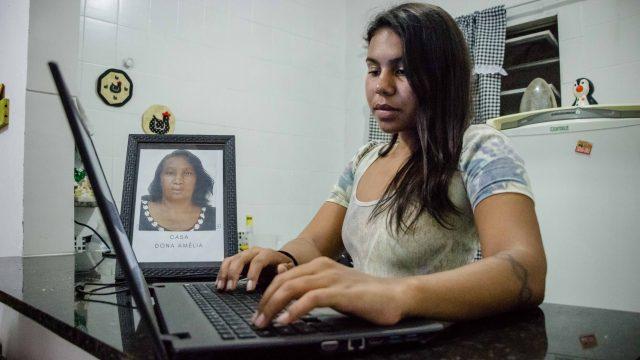 Ingrid Ciss - Foto: Renato Moura/Voz Das Comunidades