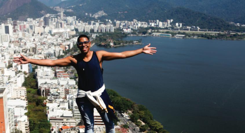 Trilha ecológica entre Cantagalo e Pavão-Pavãozinho tem uma das melhores vistas do Rio