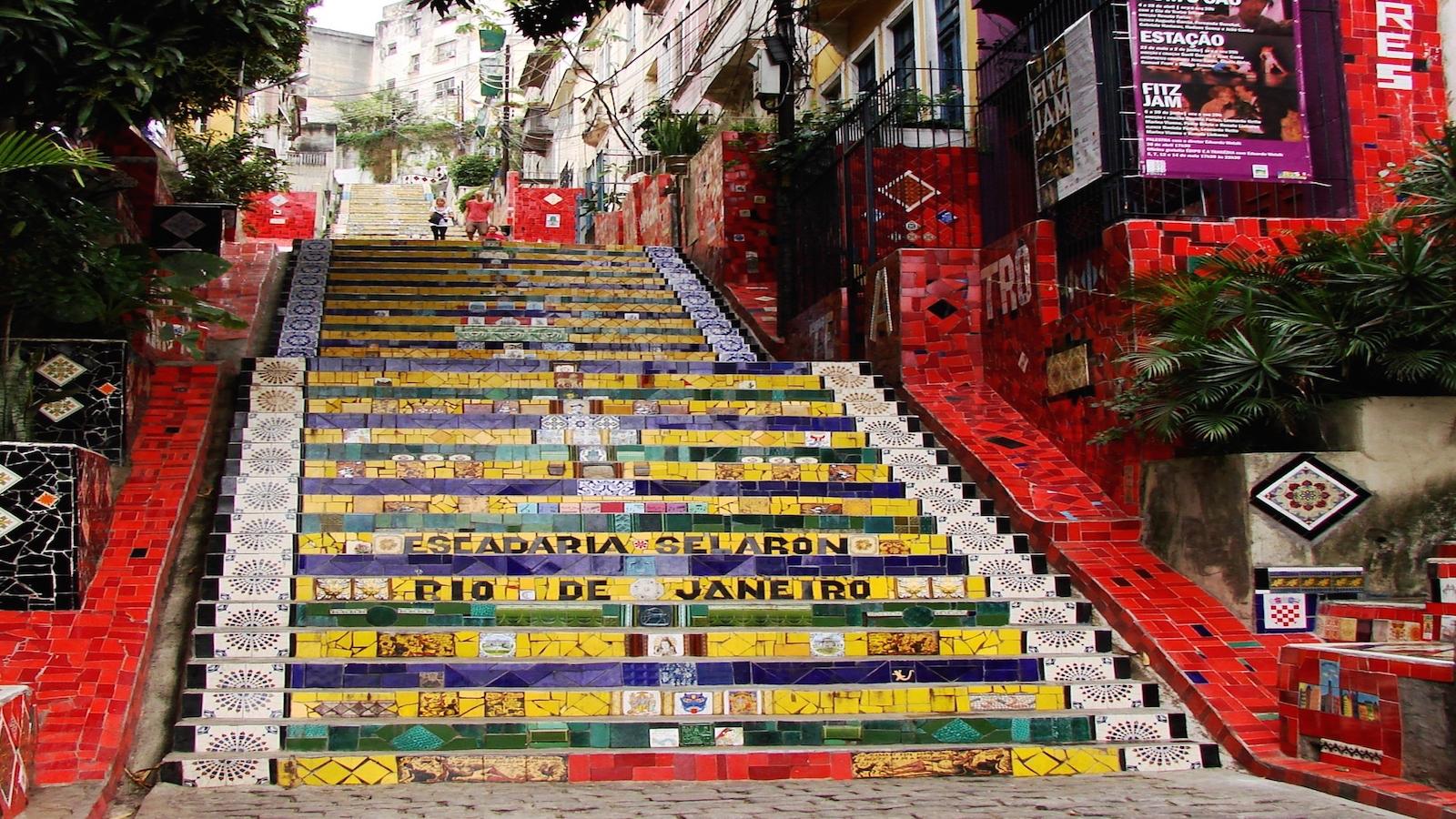 MANUAL DO ROLÉ – Escadaria do Selarón (Lapa)