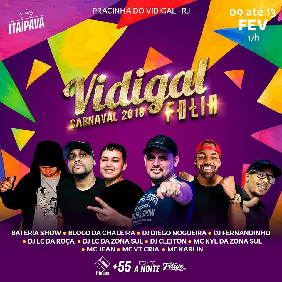Carnaval no Vidigal