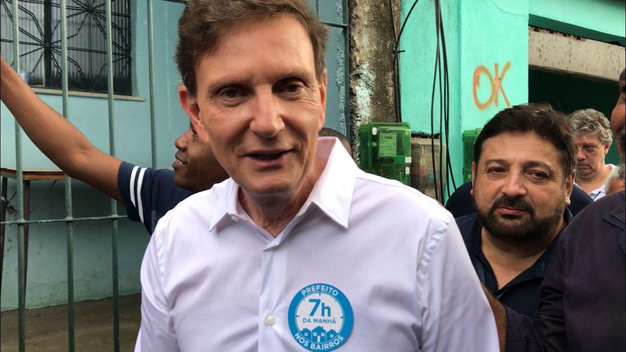 Prefeito do Rio anuncia obras do programa Minha Casa, Minha Vida na comunidade do Parque Everest