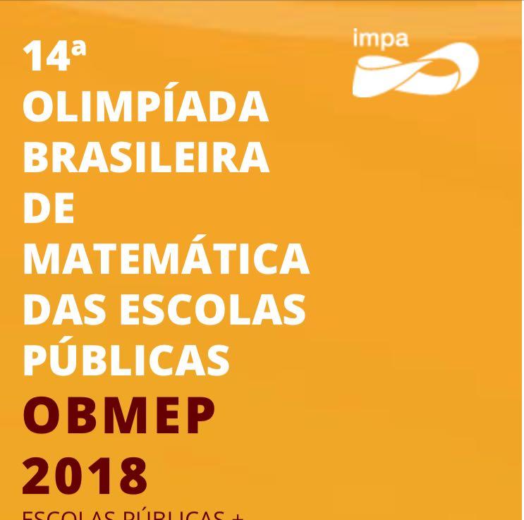 Estão abertas inscrições para 14ª Olimpíada de Matemática das Escolas Públicas