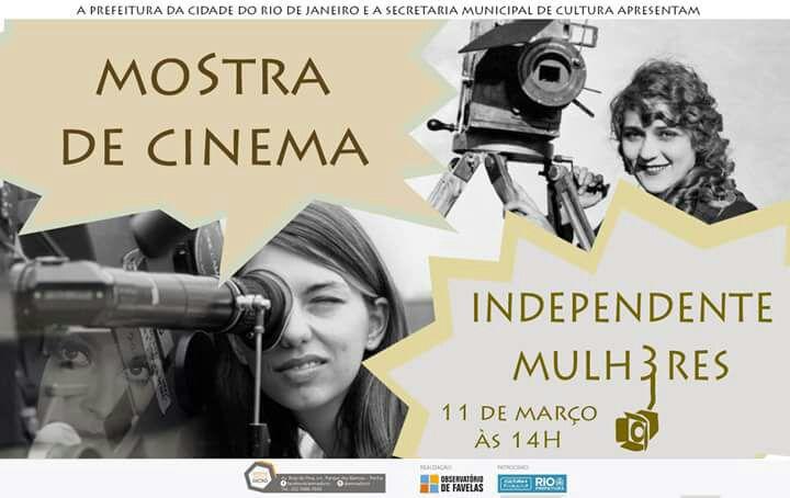 Arena Dicró recebe mostra de filmes com foco no protagonismo feminino
