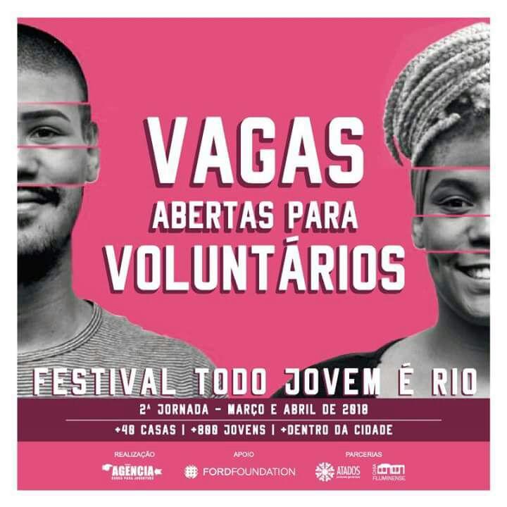 Segunda edição do projeto Todo Jovem é Rio abre inscrições para voluntários
