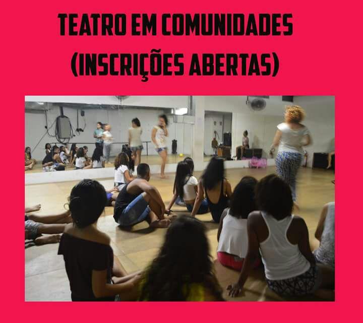 Grupo Teatro em Comunidades abre inscrições para curso gratuito na Penha