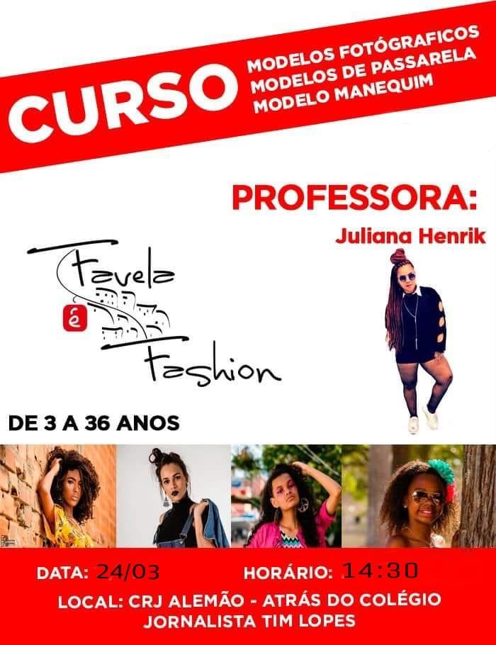 Favela é Fashion realizará nova seleção de modelos no próximo sábado (24)