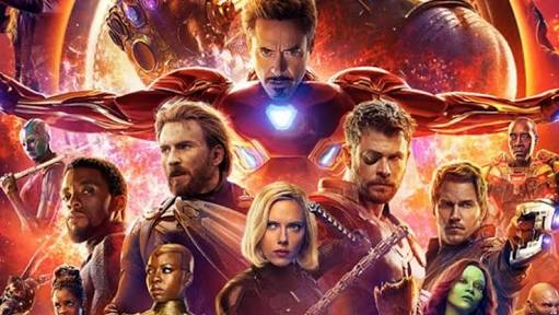 Filme 'Vingadores: Guerra Infinita' estreia nessa quinta-feira no cinema do Alemão