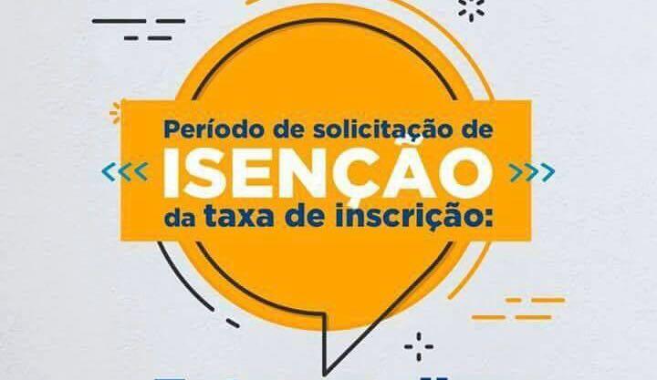 Atenção candidatos do Enem 2018, inscrições para isenção da taxa vão até o dia 11