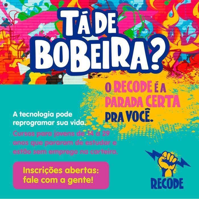 Curso de informática oferecido pela organização Redes da Maré abre vagas para jovens