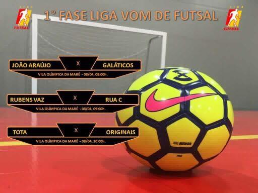 Vila Olímpica da Maré vai realizar campeonato de Futsal com times da região