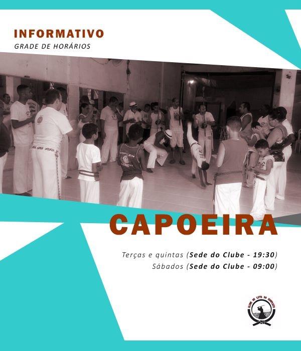 Clube de Luta do Alemão oferece aulas gratuitas de Capoeira