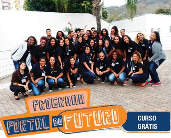 Programa Portal do Futuro, do SENAC, oferece cursos gratuitos para capacitação profissional de jovens