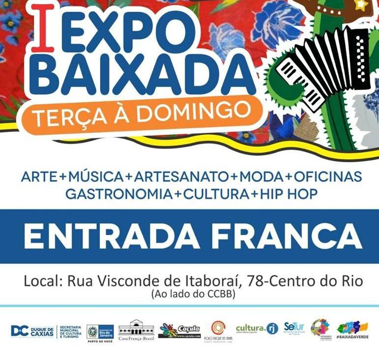 Evento oferece arte, música, moda e cultura, na Casa França Brasil