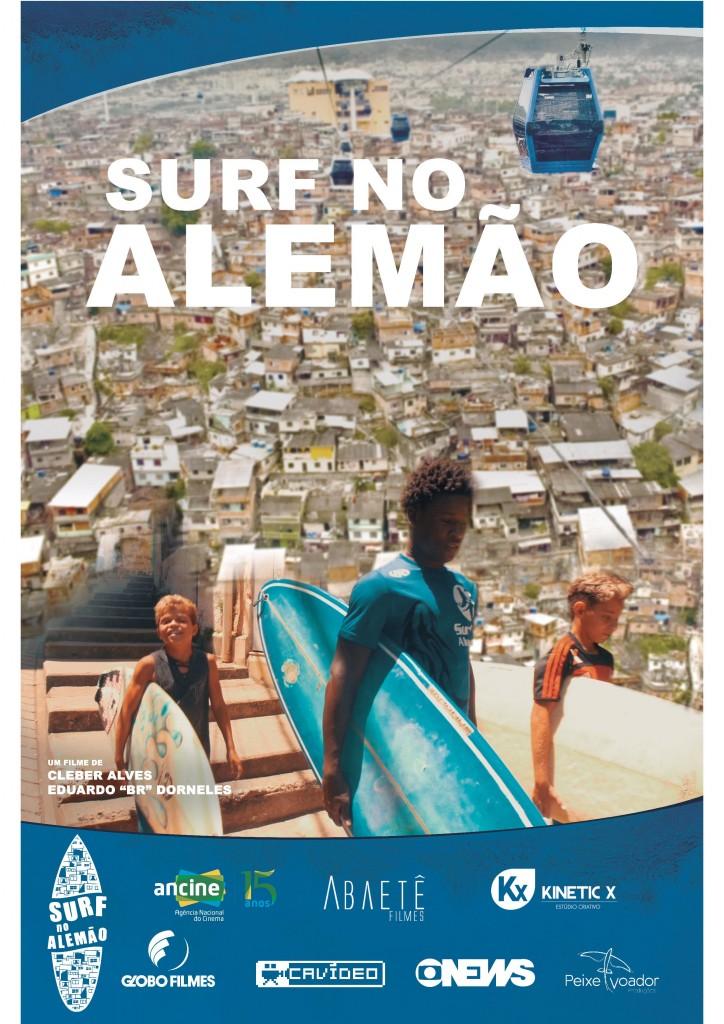 Documentário Surf no Alemão será exibido no Canal Brasil