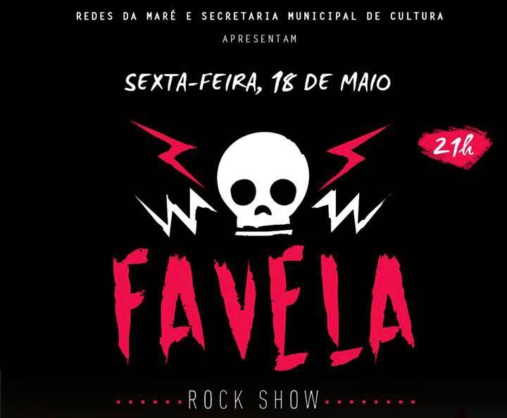 Lona Cultural da Maré recebe o Favela Rock show