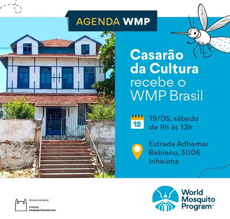 Prefeitura e Fiocruz realizam evento contra dengue em Inhaúma, neste sábado (19)