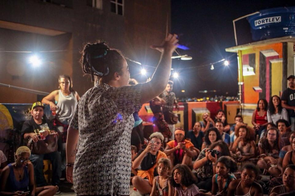 Slam Laje, do Complexo do Alemão, celebra seu primeiro ano no próximo domingo, 27 de maio
