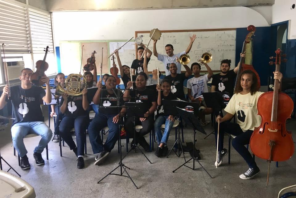 Orquestra de Câmara da Rocinha faz campanha de financiamento para apresentação no Paraná