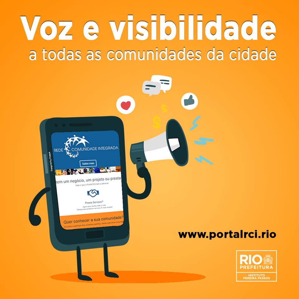 Portal RCI surge como proposta de dar visibilidade a comunidades da Cidade do Rio