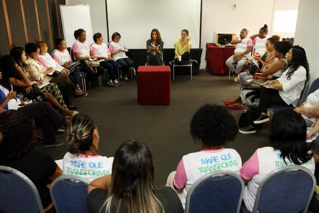 Maré que Transforma: mulheres do Complexo da Maré participam de curso sobre nutrição