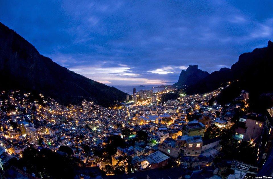 Mirante da Rocinha está em fase de construção