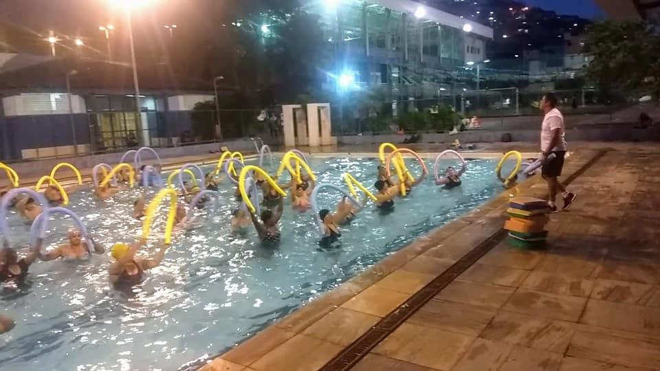 Vila Olímpica do Complexo do Alemão terá aulão de hidroginástica e aerodefense