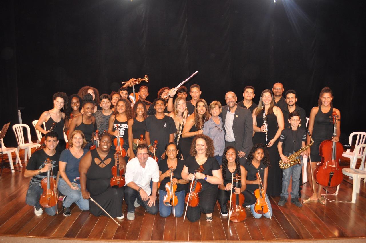 Orquestra Solar Meninos de Luz faz primeira apresentação na próxima terça-feira, 26 de junho