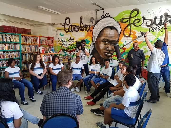 Alunos de escolas da Vila Cruzeiro e da Penha produzem série