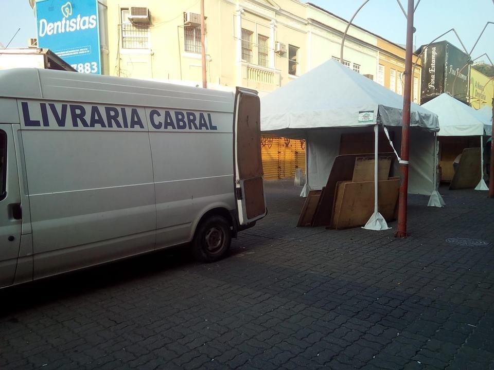 Livraria Ambulante estará na Penha, a partir desta segunda (2)