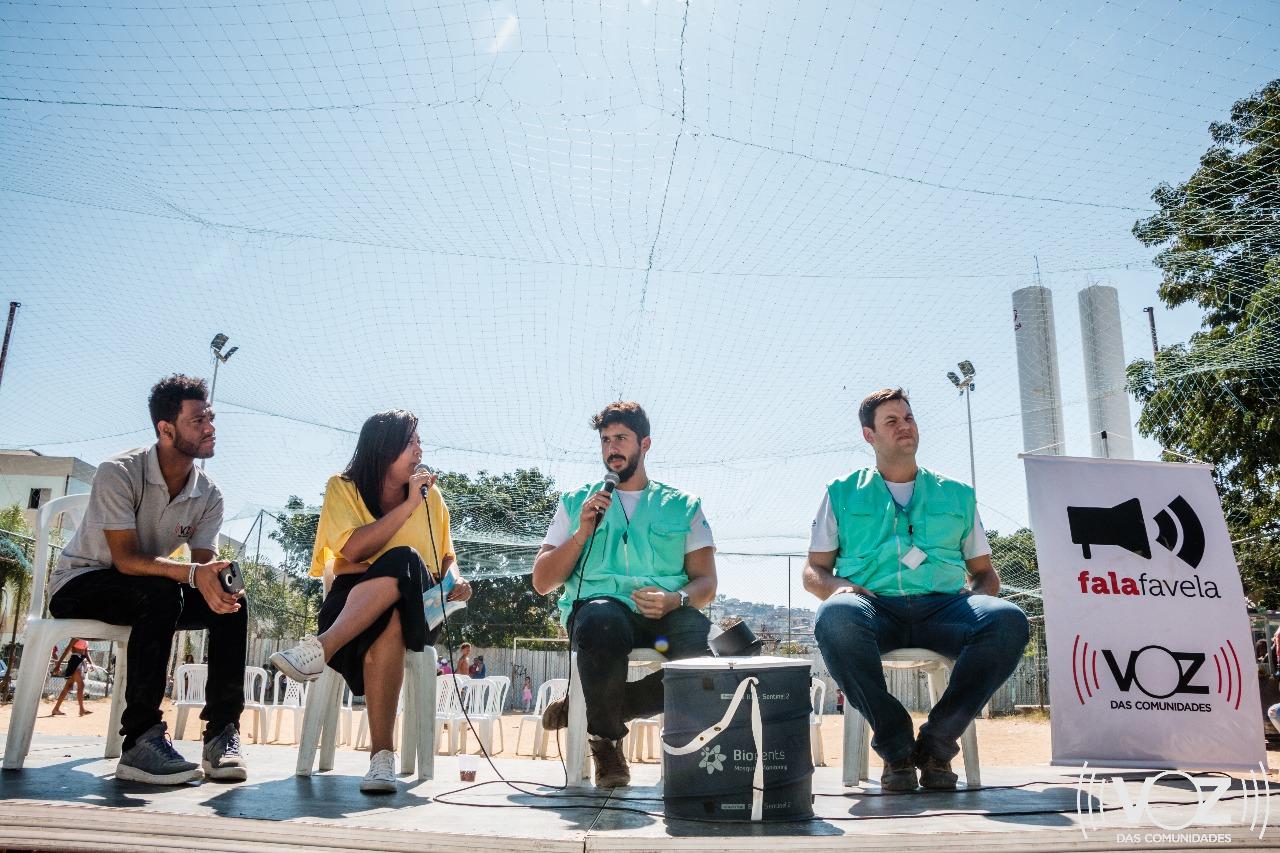 Fala Favela: mosquito Wolbito é tema de palestra com equipe da Fiocruz