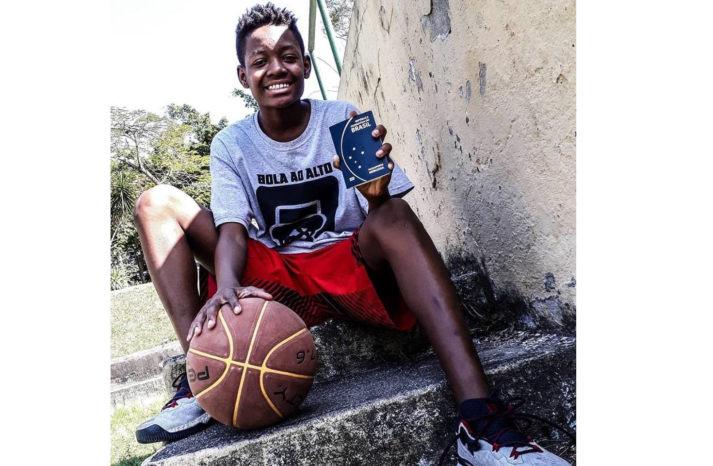 Jovem do Cesarão participará de Camp de Basquete em Nova Iorque
