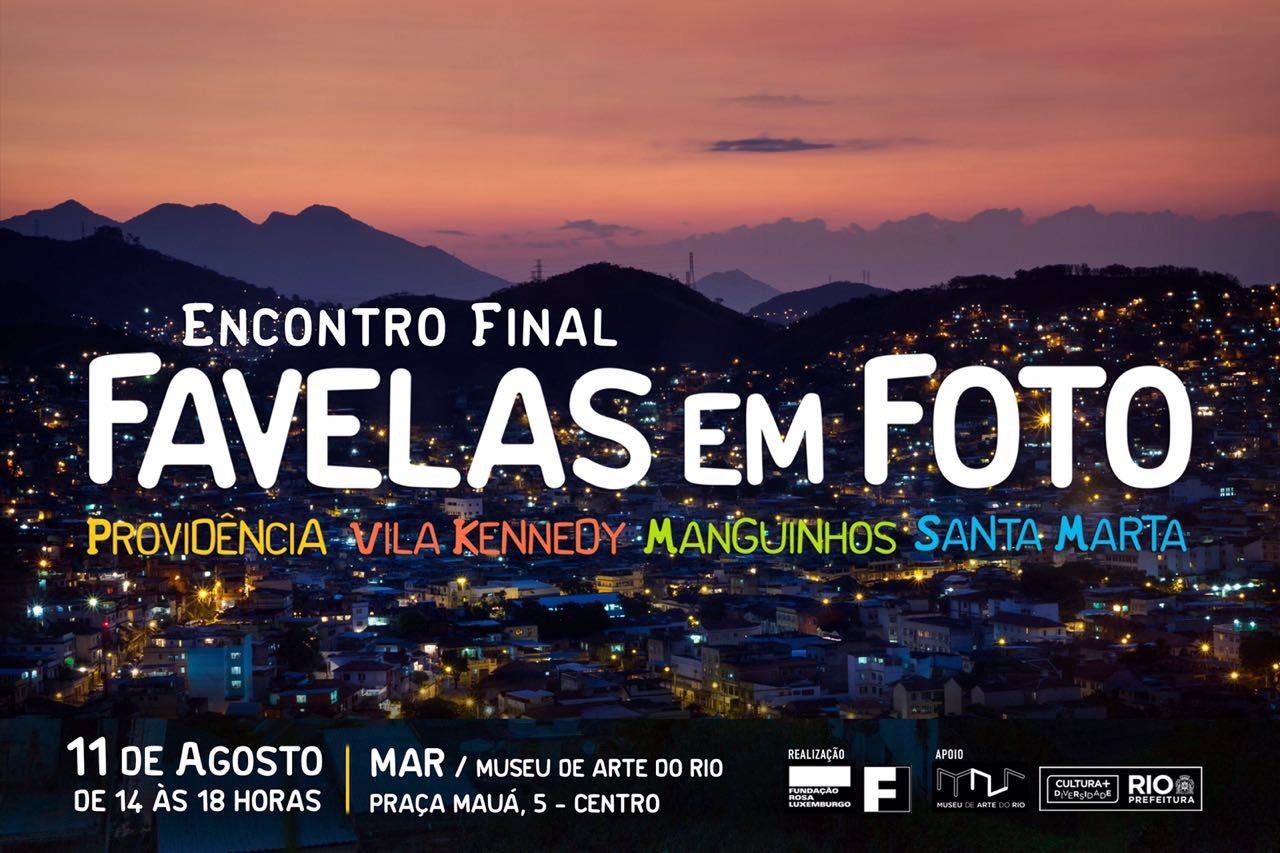 Museu de Arte do Rio recebe o encontro final do Favelas em Foto