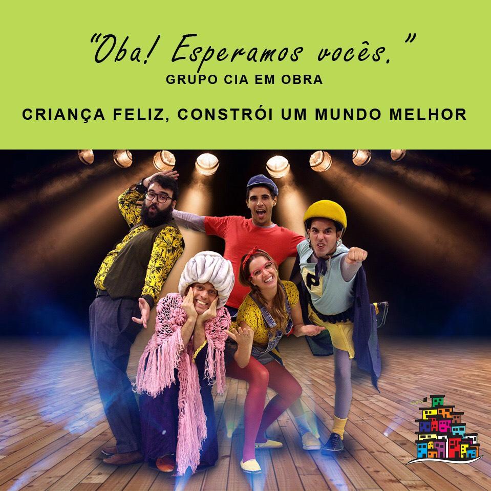 Crianças do Complexo do Alemão vão ao teatro como convidadas da marca Zinzane