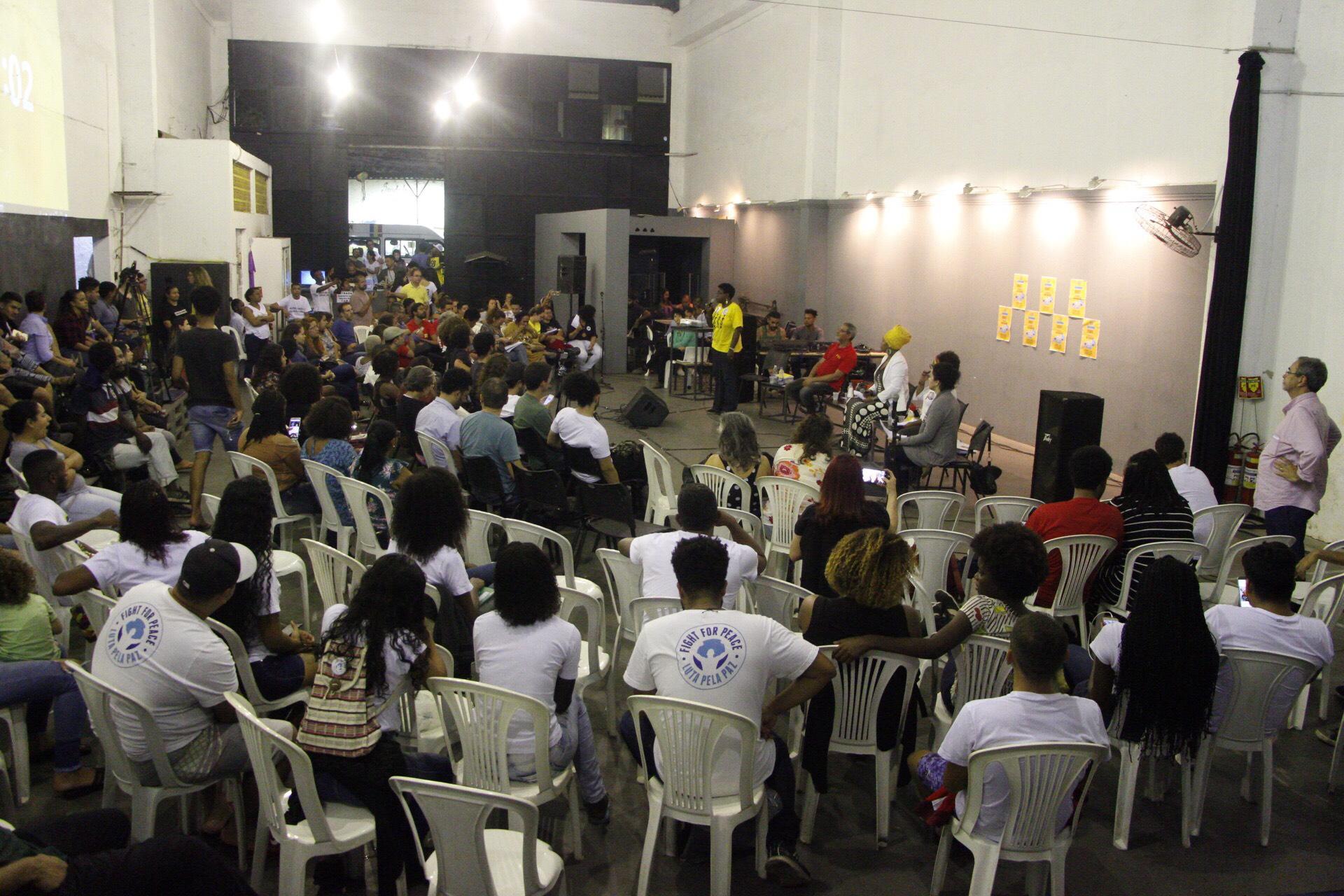 Maré recebe candidatos ao Governo do Rio para debate sobre Segurança Pública