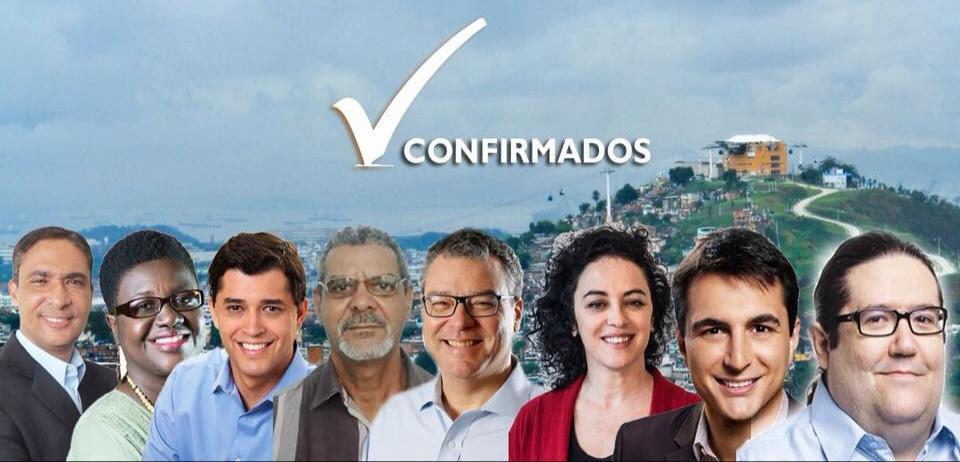 Oito candidatos estão confirmados no debate que acontecerá sábado, no Complexo do Alemão