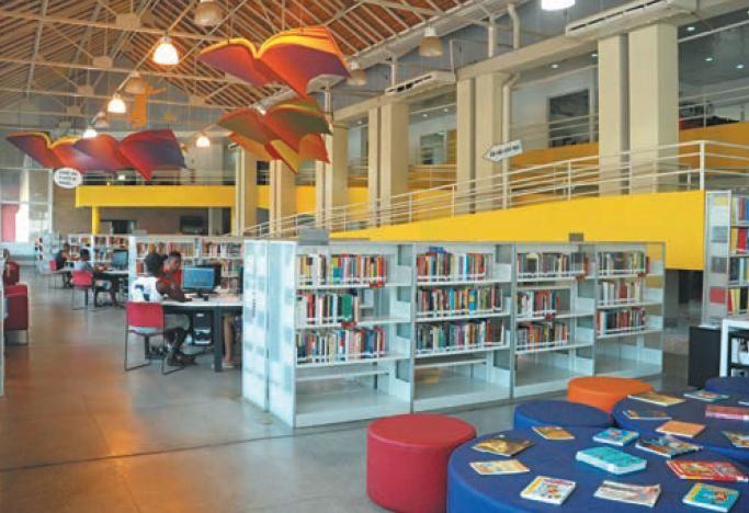 Biblioteca infantil é reinaugurada em Manguinhos